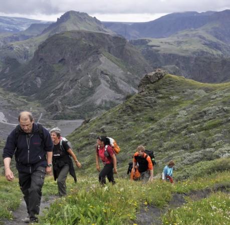 Foto aus der Thorsmörk in Island