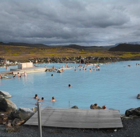 Foto vom Geothermalbad Jarðböðin am Mývatn