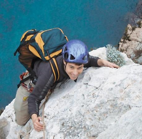 Foto vom Kletterkurs in der Calanques de Port Miou (Südfrankreich)