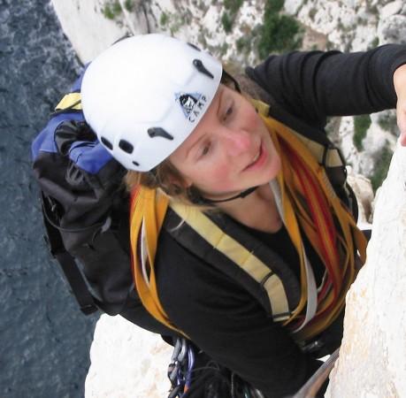 Foto vom Kletterkurs in den Calanques (Südfrankreich)