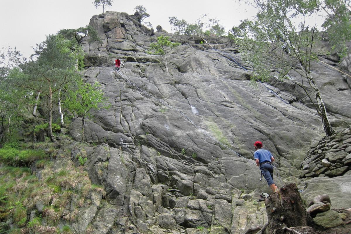Klettersteig Norddeutschland : Kletterkurs intensiv im harz einführung 2 tage » carpe diem