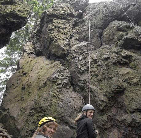 Foto vom Kletterkurs im Lauchagrund in Thüringen