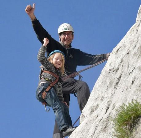 Foto vom Klettern in Bevedere am Gardasee