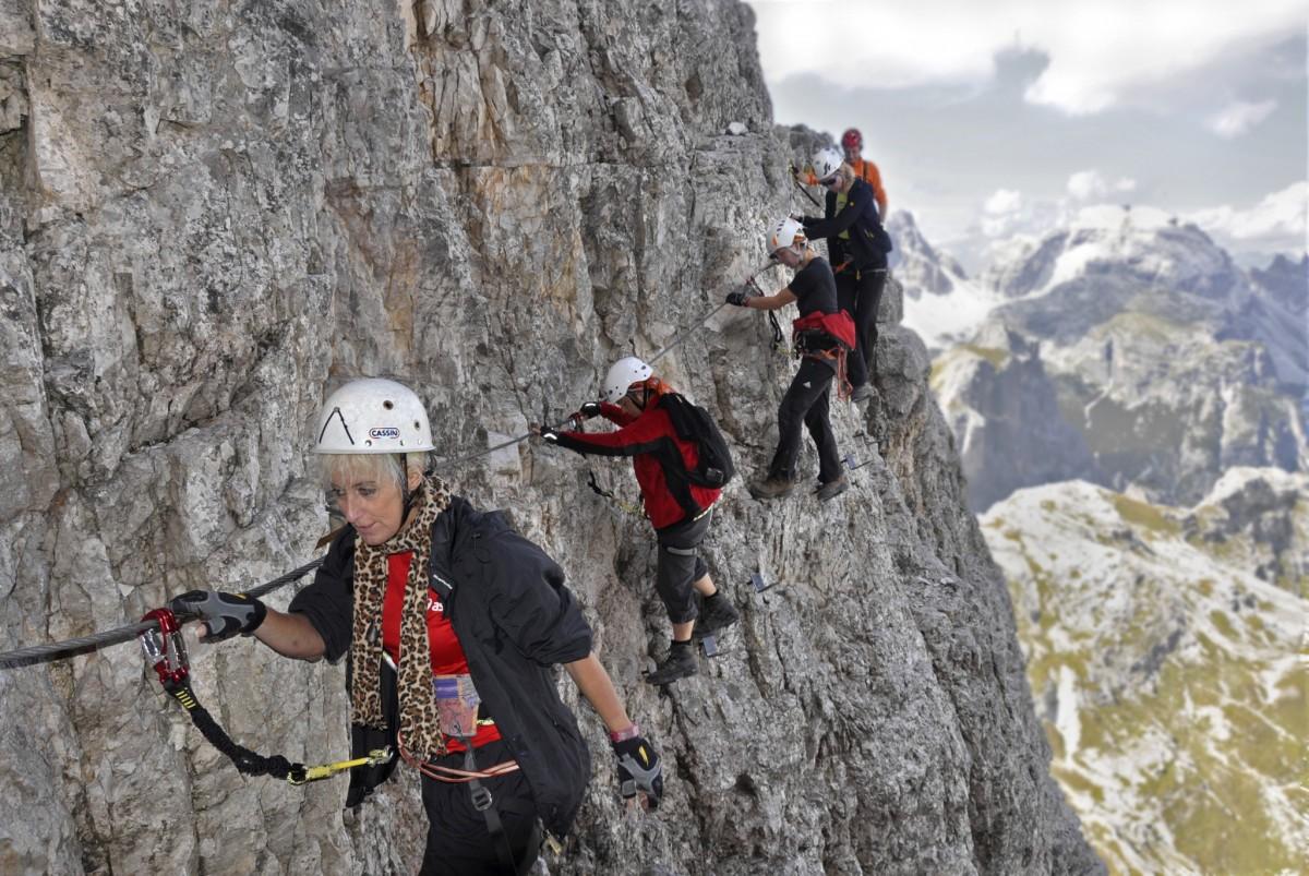 Klettersteig Drei Zinnen : Klettersteige der sextener dolomiten carpe diem