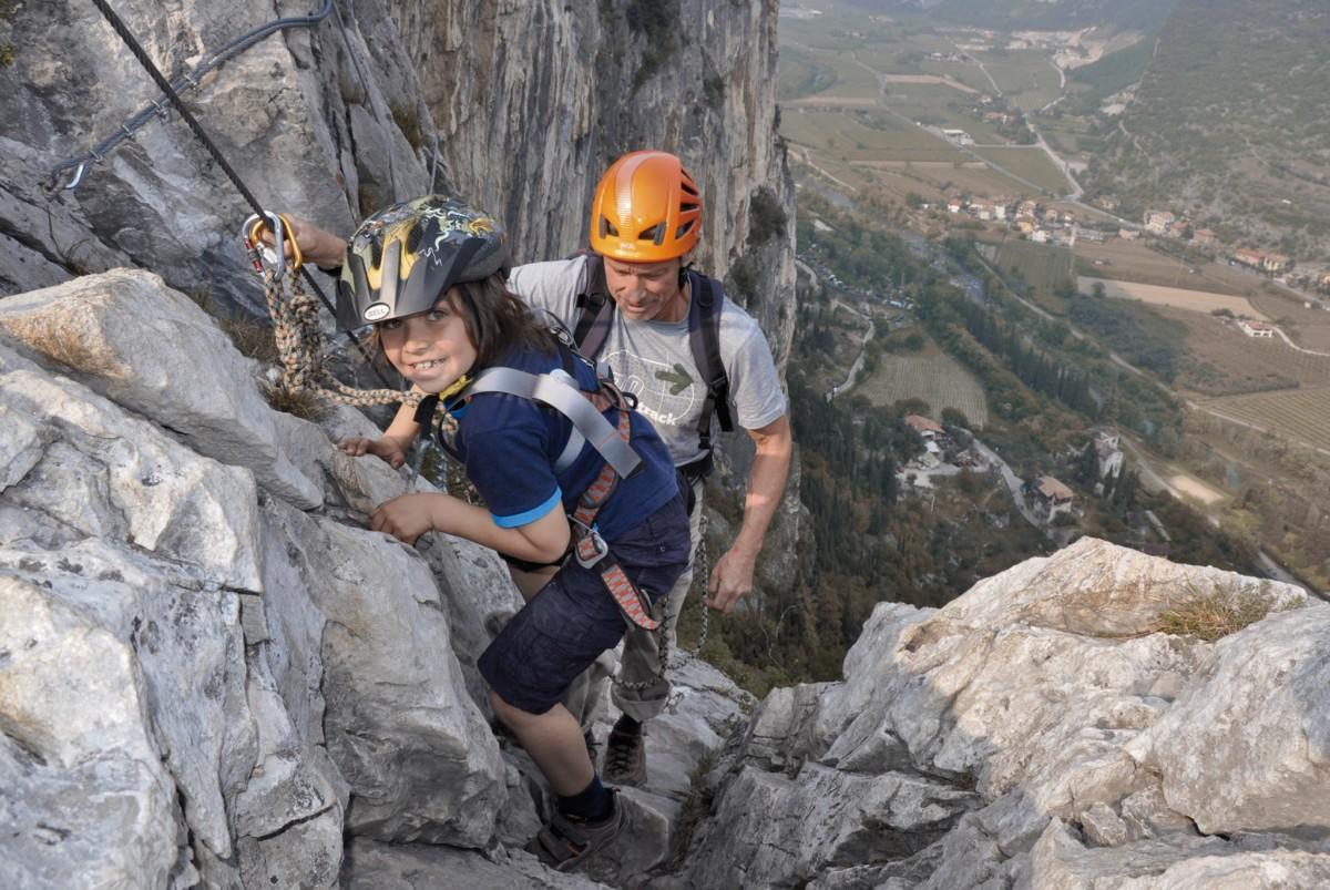 Klettersteig Gardasee : Klettersteige hoch über dem gardasee » carpe diem