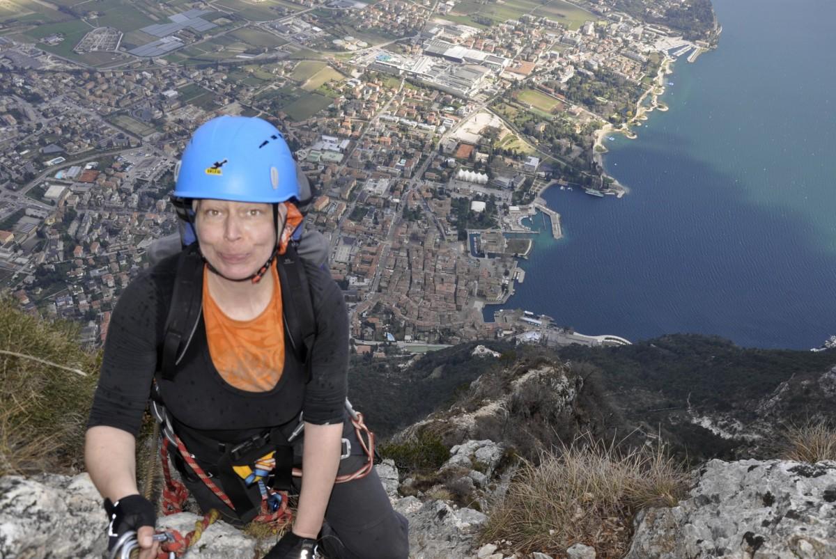 Klettersteig Italien : Klettersteige hoch über dem gardasee carpe diem