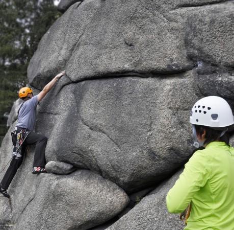 Foto vom Kletterkurs im Harz