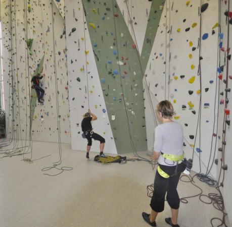 Foto vom Kletterkurs Einführung in der Kletterhalle