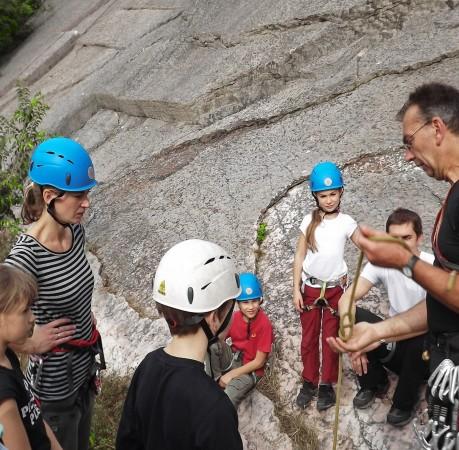 Foto vom Klettern in Baone am Gardasee