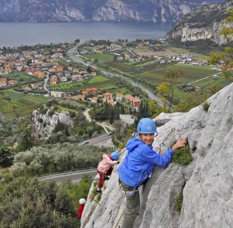 Foto Klettern in Belvedere am Gardasee