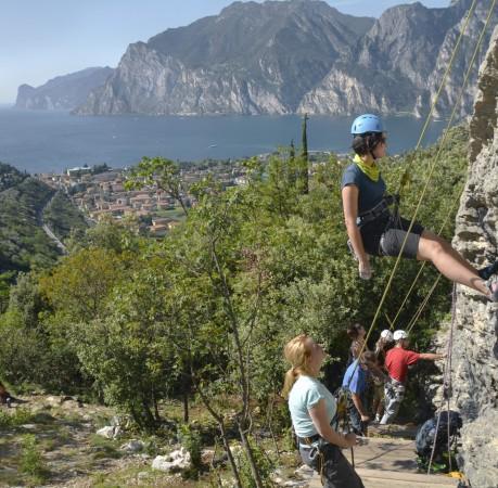 Foto Klettern in Belvedere Gardasee