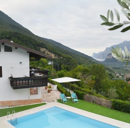 Foto vom Casa Velo hoch über dem Gardasee