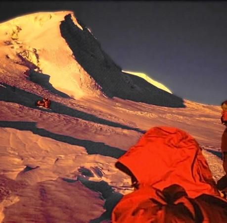 Foto vom Gipfelansteig zum Mera Peak