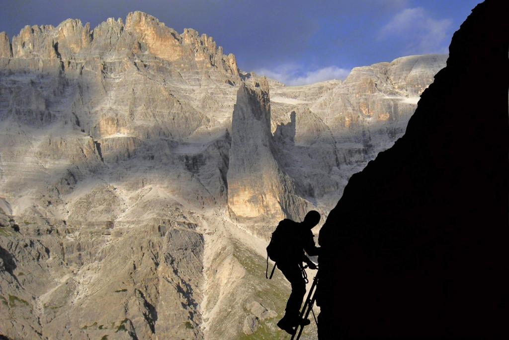 Klettersteigset Montieren : Klettersteige der sextener dolomiten » carpe diem