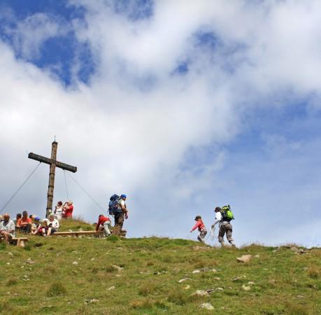 Foto vom Gipfel der Laugenspitze (2434m) | Wanderwoche in Südtirol