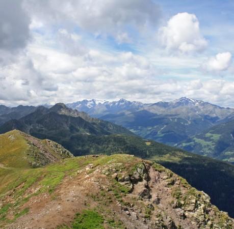 Foto vom Weg zur Laugenspitze bei der Wanderwoche in Südtirol