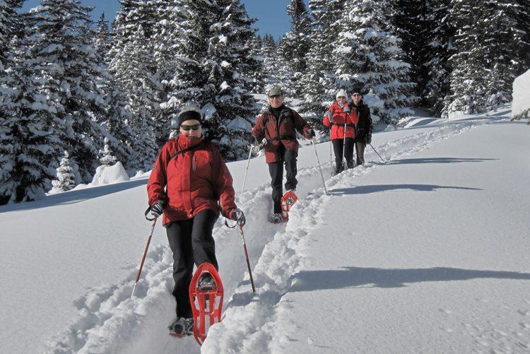 Schneeschuhtour Tannheimer Alpen